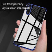 Luxury Silicone Soft Case For Huawei P20 Pro P20 Lite Case Cover Plating Transparen TPU Soft Cover For Huawei P10 Plus Lite Case