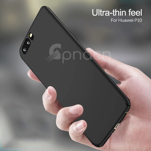 Luxury Ultra Thin Hard Case For Huawei P20 Lite Pro P10 Lite Plus Matte PC Back Phone Cover For Huawei P9 Lite P9 Plus Cases