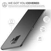 Luxury Ultra Thin Cover For Samsung Galaxy S9 Case Silicone Back Matte TPU Soft Gel Case For Galaxy S9 Plus Black Case For Man
