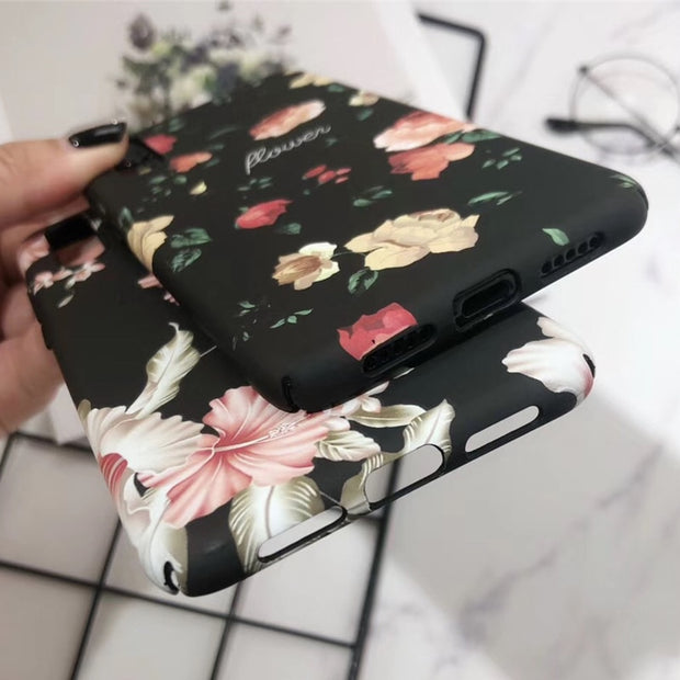 MOUSEMI For Huawei P20 Lite Nova 3e Protective Case Cover Girls Flower Hard Case For Huawei P20 Lite P20 Pro Honor 10 Back Cover