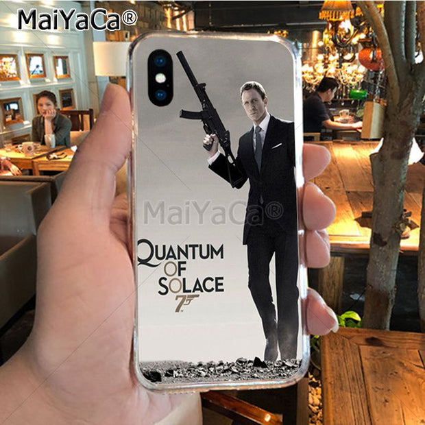MaiYaCa 007 Spectre James Bond Skyfall Top Detailed Popular Phone Case For IPhone X XS MAX XR 6S Plus 5S 7 8PLUS Case Cover