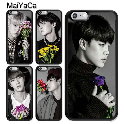 MaiYaCa BTS Bangtan Boys V Jin Suga Jimin Phone Case For IPhone XS MAX X XR 8 7 Plus Cover For Iphone 6 6s 5s SE Phone Bag Capa