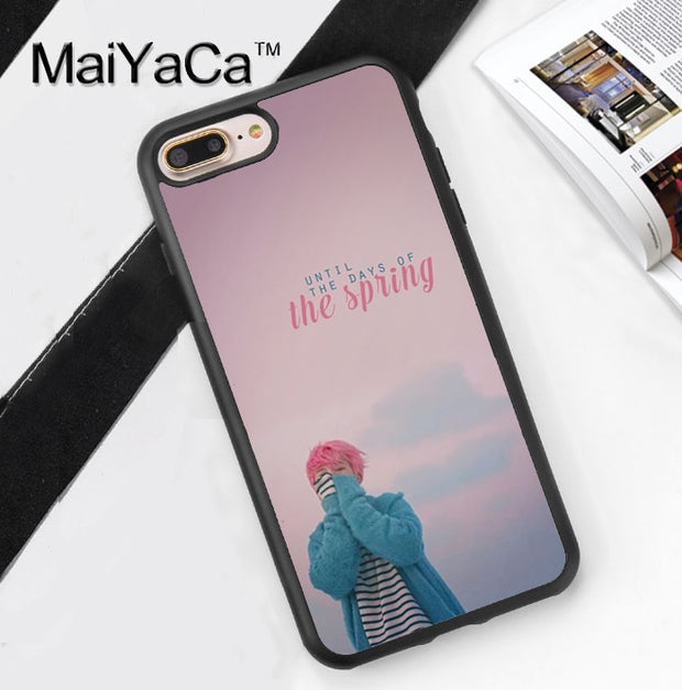 MaiYaCa BTS Jimin Design Soft Rubber Phone Case Coque For IPhone 6 ...