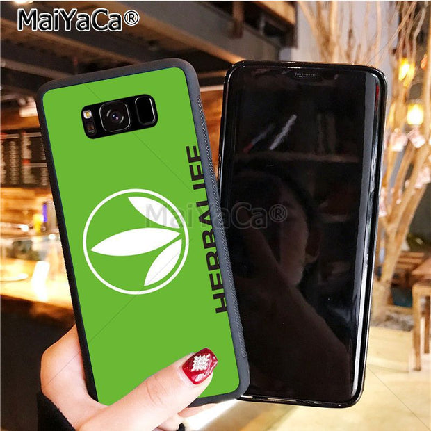 MaiYaCa Black Herbalife Soft Tpu Phone Case Cover For