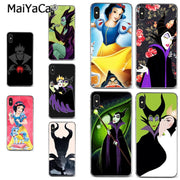 MaiYaCa Cartoon Snow White Berry Maleficent Lovely Soft Tpu Phone Case For IPhone X XS MAX 5 6SPLUS 7 8plus Case Coque Funda