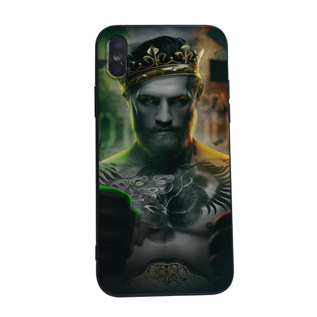 MaiYaCa Conor Mcgregor The King Phone Case Soft Silicone Capa For Iphone X 8 8plus 7 7plus 6plus 6s 5S SE XS XR XSmax Case Cover