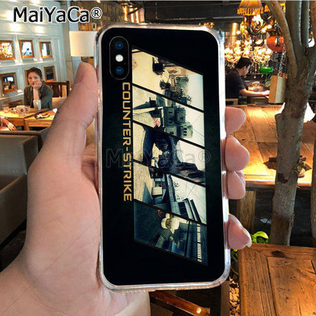 MaiYaCa Counter Strike Cs Go Game On Sale Luxury Cool Phone Accessories Case For IPhone X XS MAX XR 6S Plus 5S 7 8 PLUS Case