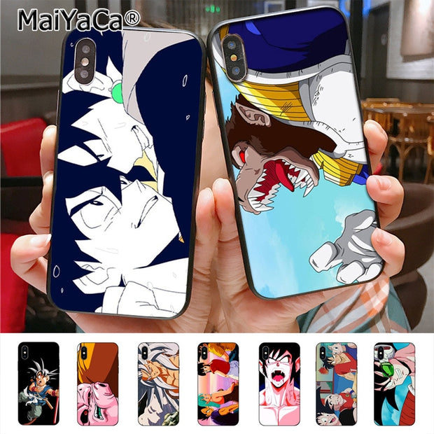 MaiYaCa Dragon Ball GT Soft Tpu Rubber Cell Phone Case For IPhone X XS XR XS MAX 7plus 6 6s 7 8 8Plus 5 5S 5C Case