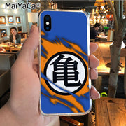 MaiYaCa Dragon Ball Logo Soft Tpu Phone Case Cover For IPhone X XS MAX 5 6SPLUS 7 8plus Case Coque Funda
