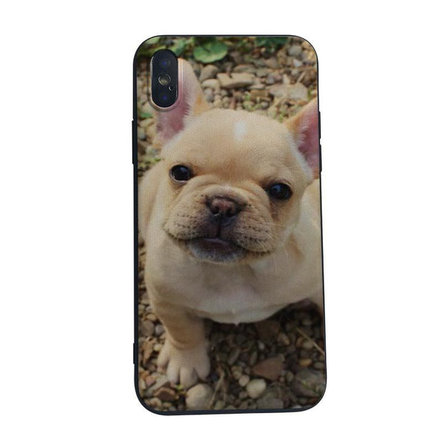 MaiYaCa Franc Bulldog Case Silicone TPU Cover Capa For Iphone 5 5s SE 6s 6plus 7 8plus 8 X XS XR XSMAX Phone Cases