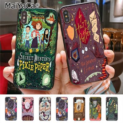 MaiYaCa Harry Potter Comics Luxury Quality Phone Case For Apple IPhone X 8 7 6 6S Plus 5 5S SE 5C Cass