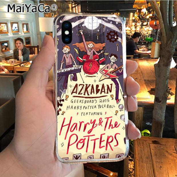 MaiYaCa Harry Potter And The Sorcerer's Stone Colorful Phone Accessories Case For IPhone 8 7 6 6S Plus X XR XS MAX 5S SE Case