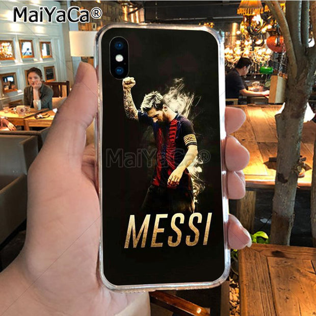 db263652dcf MaiYaCa Lionel Messi Football Score Soft Tpu Phone Case Cover For IPhone X  XS MAX 5