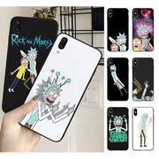 MaiYaCa Rick & Morty Capa Cell Phones Case Cover For Iphone 5 5s SE 6s 6plus 7 8plus 8 X XS XR XSMAX Cover Capa