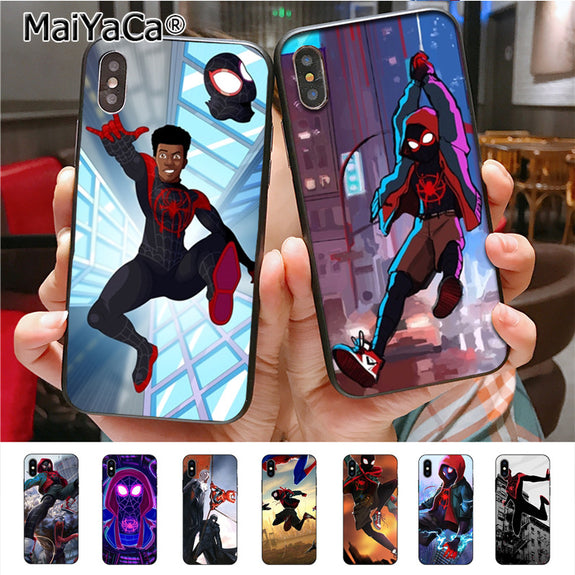 Maiyaca Spider Man Into The Spider Verse High Quality Phone Case For I