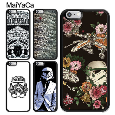 MaiYaCa Star Wars Stormtrooper Phone Case For IPhone 5S SE 6 6S 7 8 Plus X XR XS MAX Soft TPU Back Cover Case Coque Funda