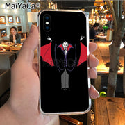 MaiYaCa Vampire Luxury Hybrid Phone Case For IPhone X XS MAX XR 6S Plus 5S 7 8PLUS Case Cover