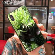 MaiYaCa Dragon Ball Super Unique Luxury Soft Tpu Silicon Phone Case For IPhone X XS XR XS MAX 7plus 6 6s 7 8 8Plus 5 5S 5C Case