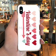 MaiYaCa Forever And Always Valentine's Day Top Detailed Popular Phone Case For IPhone X XS MAX 5 6SPLUS 7 8plus Case Coque Funda