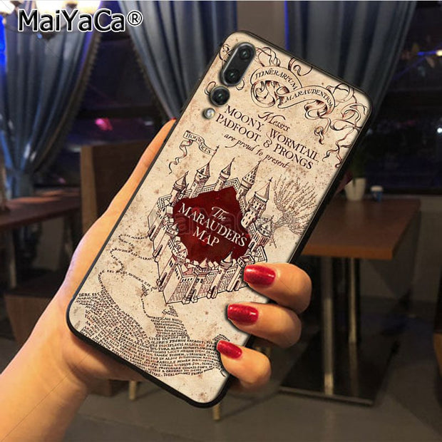 Maiyaca Harry Potter Luxury Hybrid Phone Case For Huawei P20 P20 Pro Honor9 Mate10 Case Cover