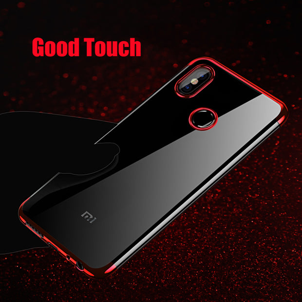 Maoruisi For Xiaomi Note 5 Case Note5 Pro Global Version Luxury Plating Transparent Clear Phone Case For Xiaomi Redmi Note 5 Pro