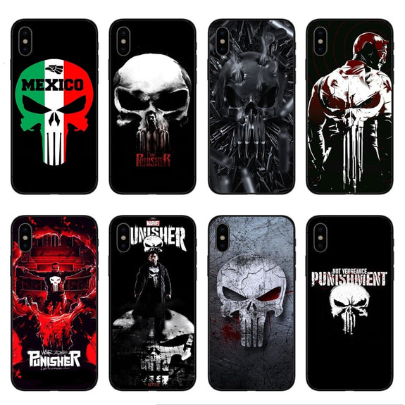 coque punisher iphone x