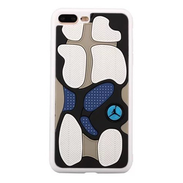 New 3D Air Jordan Shoe Sole TPU+Rubber Case For IPhone 8 Plus, AJ Jumpman Back Cover Case, Mobile Phone Cases For IPhone 7 Plus