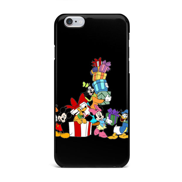 New Year Christmas Gifts Couple Mickey Minnie Mouse Phone Case For IPhone XR XS MAX 7 5S SE 4S 6S 7 8 Plus X TPU Silicone Cover
