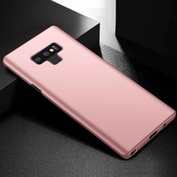 Note9 Ultra Thin Matte Case For Samsung Galaxy Note 9 Hard Back Luxury Slim Coque Cover For Samsung Galaxy Note 9 Cases Gold