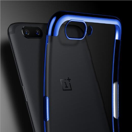 OnePlus 5T Case Luxury Soft Laser Plating Phone Case For One Plus 5T A5010 Clear Ultra Thin Protective Back Cover For OnePlus 5t