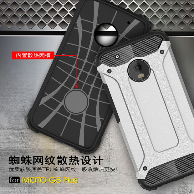 PC Armor TPU Case For Motorola Moto G5 Plus XT1681 Silicon Anti-Shock Hard Protection Cover For Moto G 5 Plus XT1683 Fitted Case