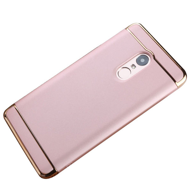 PC Hard Mobile Phone Cover Case Shell Anti Drop For Xiaomi Redmi Note4