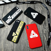 Palace Skateboards For Iphone X XS MAX XR 10 8 7 6 6s Plus 5 5s Se Soft Matte Silicone Phone Cover Street Fashion Coque Capa