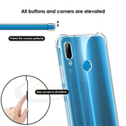 Phone Case For Huawei P20 Pro Case Transparent Slim Soft Silicone TPU Skin For Huawei P20 Lite Airbag Protective Cover Fundas