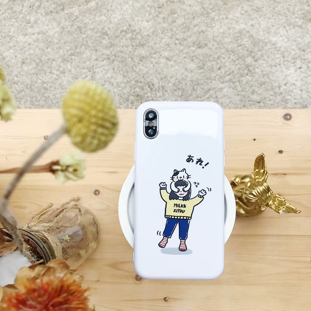 Phone Case For IPhone 8 7 6 6s Plus Fashion Cartoon Back Cover Case For IPhone X All-inclusive Anti-fall Phone Cases Soft Shell