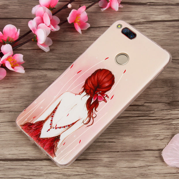 Phone Cases For ZTE Nubia Z17 Mini Case 3D Fruit Landscape Cat Girls Soft Tpu Cover For Z17mini 5.2inch Silicon Back Cover Coque