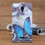 Phone Luxury Leather Case For Alcatel Pixi 4 5.5 5012G 5012F Wallet PU Stand Style For Alcatel POP S3 Evolve 2 4037t Cover