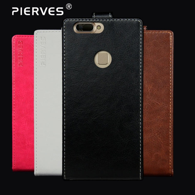 Pierves G0 Luxury Card Slot Flip Cover PU Leather Case For Prestigio Grace B7 Lte