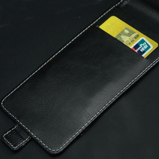 Pierves Luxury Card Slot Flip Cover PU Leather Case For Prestigio Wize N3 NX3 Nk3