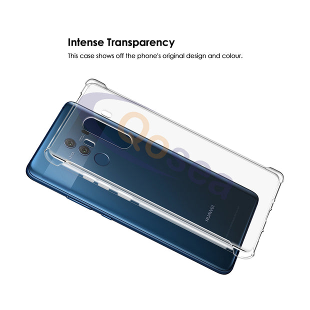 Qosea For Huawei Mate 10 Pro Case Transparent Slim Soft Silicone Ultra Clear TPU Skin For Huawei Mate 10 Airbag Protective Cover