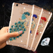 Redmi 4X Case For Xiaomi Redmi 4X Cover Luxury Rhinestone Case For Xiaomi Redmi 4X Pro Case PC Hard Back Phone Cases Cover 5.0""