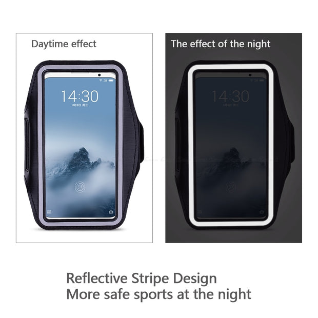 Running Cycling Sport Phone Bag Cover For Meizu M5 M6 Note M5C M5S M6S M6T M8c 15 Lite 16 X 16th Pro 6S 6 7 Plus Arm Band Case