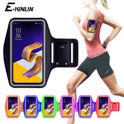 Running Cycling Sport Workout Phone Holder Bag Cover For Asus ZenFone 5Q 5z 5 Selfie Lite ZS620KL ZC600KL ZE620KL Arm Band Case