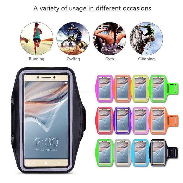 Running Gym Cycling Sport Phone Bag Cover For Letv LeEco Le Max 2 S3 1S Cool1 Dual Pro 3 AI Elite Edition Ecophone Arm Band Case