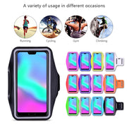 Running Gym Cycling Sport Phone Holder Cover For HuaWei View Note Honor 20 10 9 9N 8 Lite Pro P Smart Plus 2019 Arm Band Case