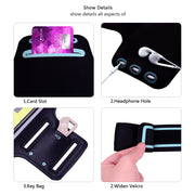 Running Gym Cycling Sport Workout Phone Bag Cover For Oppo R11 R11s R9 R9s R7 R7s Plus Lite R17 RX17 R15 Pro Neo Arm Band Case