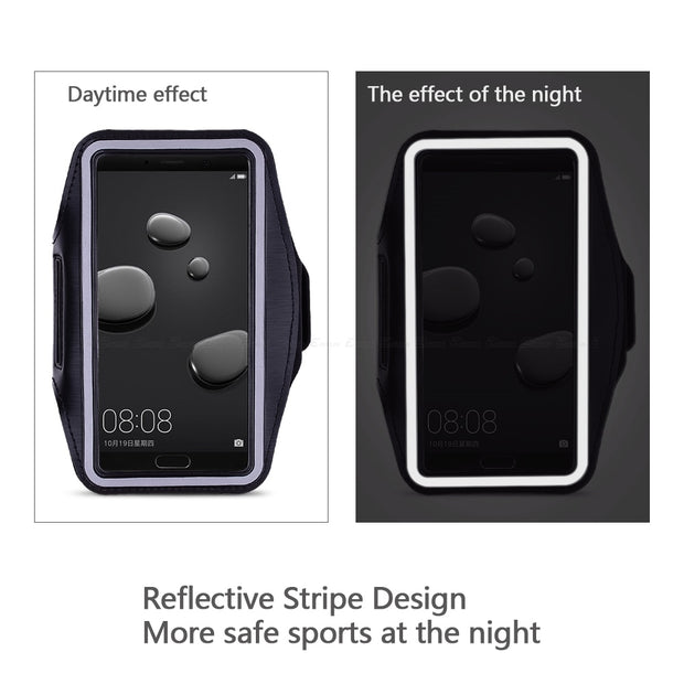 Running Gym Cycling Sport Workout Phone Holder Bag Cover For HuaWei Mate 9 10 20 Lite Pro 7 8 X S RS Arm Band Case