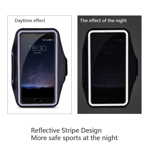 Running Gym Cycling Sport Workout Phone Holder Bag Cover For Meizu MX4 Pro 5 MX3 MX2 M2 M1 Note Metal M15 E2 E3 A5 Arm Band Case