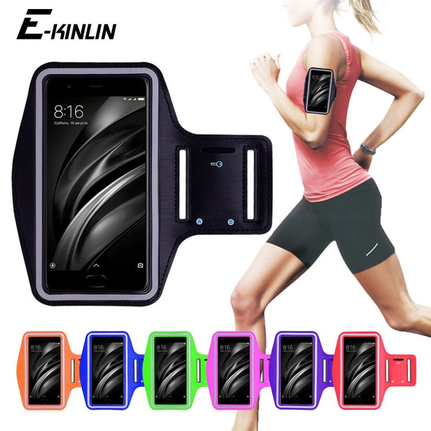Running Gym Cycling Sport Workout Phone Holder Bag Cover For XiaoMi Mi 4 4S 4i 4C 5C 5 5X 5S Plus 6X 6 Mi6 M6 Arm Band Case