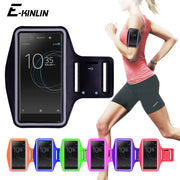 Running Gym Sport Phone Bag Cover For Sony Xperia XZ3 XZ2 XZ1 XZS XZ X XA XA2 XA1 Plus Ultra Compact Premium Arm Band Case